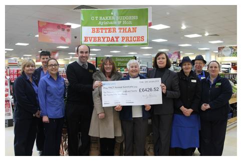 Budgens Aylsham Raises Record Charity Total