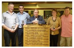 C T Baker Budgens Local Supplier Awards 2017